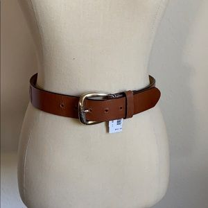 NWT Brighton leather embossed flower belt